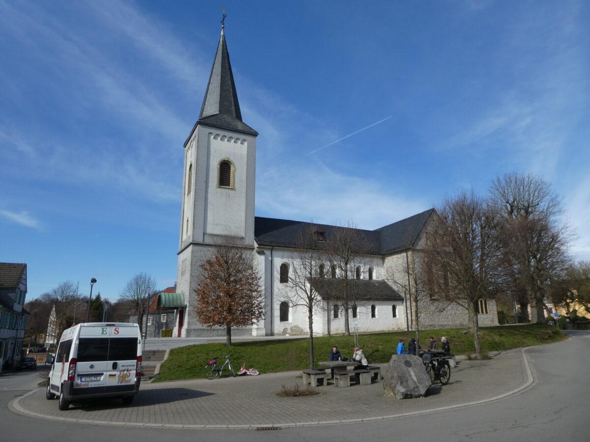 Dorf Düssel, Rittergut Schöller und der Steinbruch